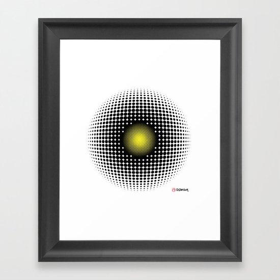 PULSATIONS Framed Art Print