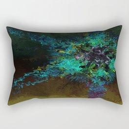 Alien Rose Rectangular Pillow