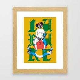 luxuria Framed Art Print