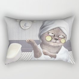 Roll My Eyes Rectangular Pillow