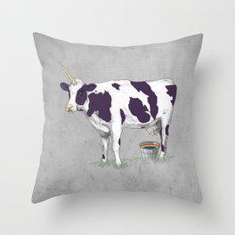 UNICOWRN Throw Pillow