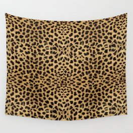 Cheetah Print Wall Tapestry