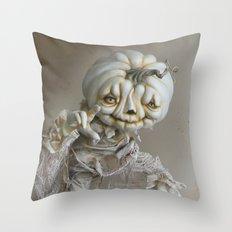 Rucus Studio Halloween Ghostly Haunt Throw Pillow