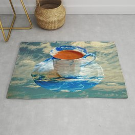CUP OF CLOUDS Rug
