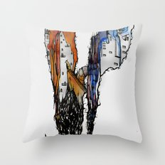 Creating Dimensions Throw Pillow
