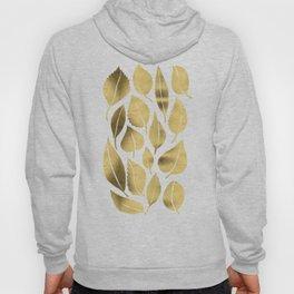 Cascading Leaves – Gold Palette Hoody