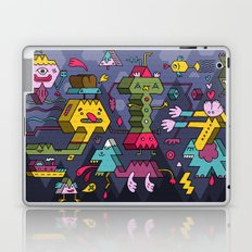 The Jury's Out Laptop & iPad Skin