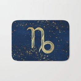 Capricorn Zodiac Sign Bath Mat