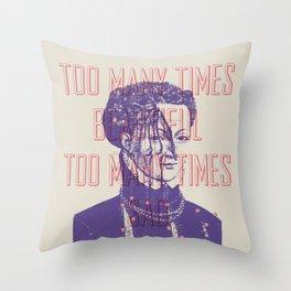 The Bob Throw Pillow