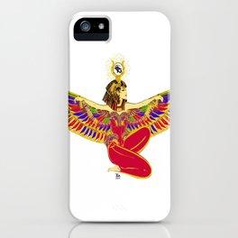 Winged Isis w/Eye of Horus iPhone Case