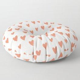 Hearts Hearts Hearts Floor Pillow