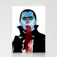 the vampire diaries Stationery Cards featuring Vampire by Alvaro Tapia Hidalgo