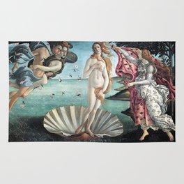 BIRTH OF VENUS - BOTTICELLI Rug