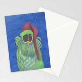 Ernesto the Secret Santa Owl Stationery Cards