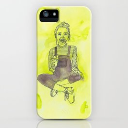 I've grown up to be a child! iPhone Case