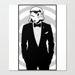 Slick Trooper Canvas Print