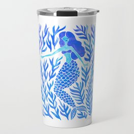 Kelp Forest Mermaid – Blue Palette Travel Mug