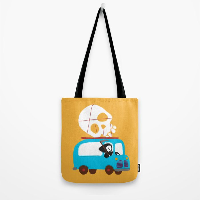 Death on wheels Tote Bag