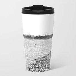 Lakescape Monochrome Travel Mug