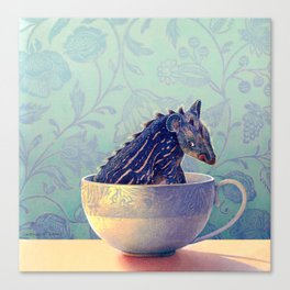 Monster in a Teacup  Canvas Print