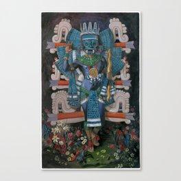 Tlaloc in Quinxochimaca Canvas Print