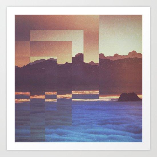 Fractions A53 Art Print