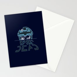 Tron Of The Dead Stationery Cards