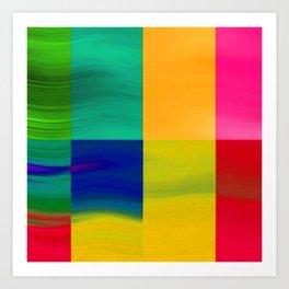 Color-emotion II Art Print