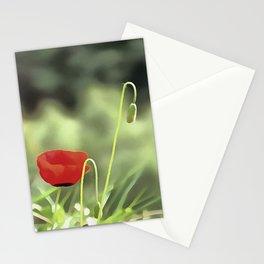 One Poppy Stationery Cards