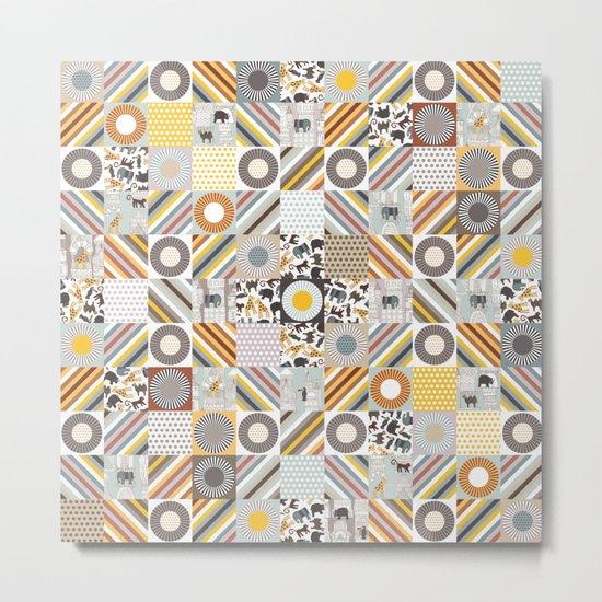 urban jungle squares Metal Print