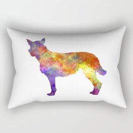 Bouvier des Ardennes in watercolor 2 Rectangular Pillow