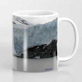 TEXTURES -- A Face of Portage Glacier Coffee Mug