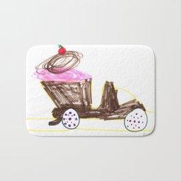 Ice Cream Sundae Dump Truck Bath Mat