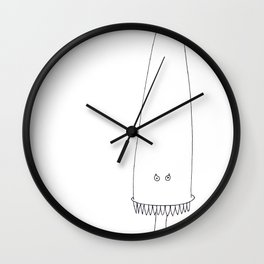 "DENTUMIN ""The invaders from Zxarcodol"" series Wall Clock"