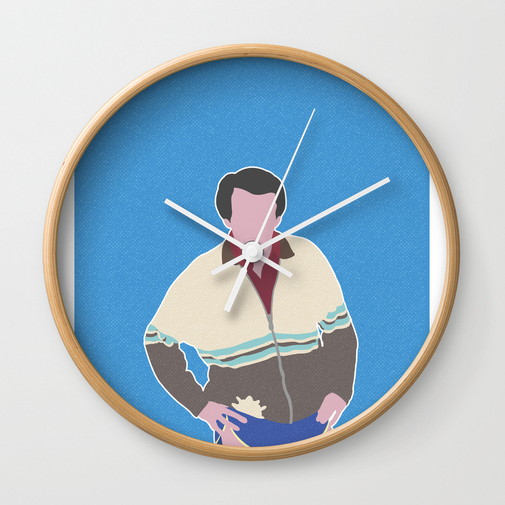 Alan Partridge Wall Clock by Barneyrobble CLK8631747