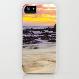 Paako Beach Sunset Jewel iPhone Case