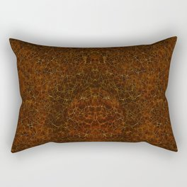 Azteca - Ancient Mexican Pattern II Rectangular Pillow