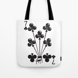 Curator Deck: The 7 of Clubs Tote Bag