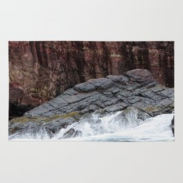 Wave and Rock Rug