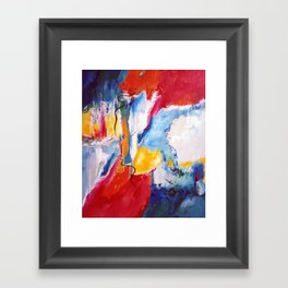 Come Down Isaiah 64 Christian Abstract Framed Art Print