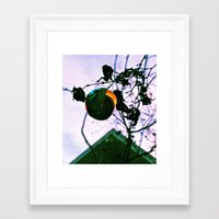 mid century Framed Art Prints featuring Mid-century ornament by Vorona Photography
