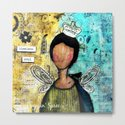 Timeless Soul. Mixed Media Art. Custom Order by croppinspree