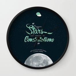 The Fault in Our Stars Wall Clock