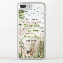 But in the end Clear iPhone Case