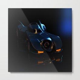 Batmobile fetish is a serious disorder Metal Print