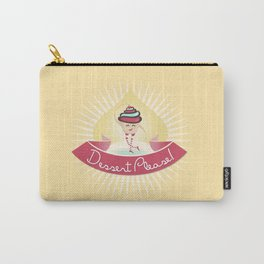 Dessert Please! (Yellow) Carry-All Pouch
