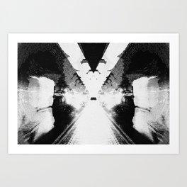Rorschach #1 Art Print
