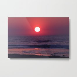 South Carolina Sunrise Metal Print