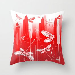 CN DRAGONFLY 1013 Throw Pillow