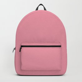 Mauvelous Solid Color Block Backpack